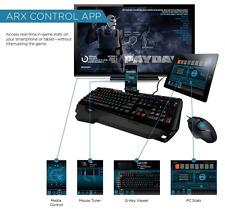 Logitech G910 Orion Spark Gaming Keyboard, 9 G Keys RGB Mechanical Keyboard New