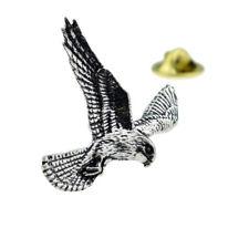Kestrel Bird English Pewter Lapel Pin Badge XTSPBB46