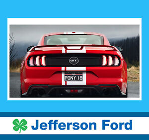 Genuine Ford Fn Mustang Performance Rear Wing Spoiler My18-19