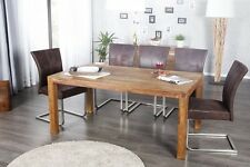 Esstisch MUMBAI Sheesham Massivholz Massiv Holz Tisch Esszimmer GRÖßENWAHL NEU
