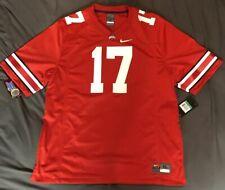 Mens Size Xlarge Ohio State Buckeyes Football Jersey Red Nike #17 Osu Msrp $90