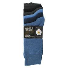 Calcetines de hombre azules, talla 41 con pack