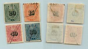 Russia 1865 15-40 kop used St. Petersburg uprava. g577