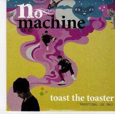 (EQ808) No Machine, Toast The Toaster - 2009 DJ CD