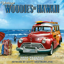 2020 Wall Calendar Vintage Woodies Of Hawaii By Scott Westmoreland 11 X 11 In