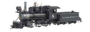 Bachmann 25262 On30 Colorado Mining 2-6-0 Mogul Steam-Powered Locomotive #8