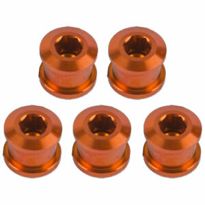 Insight Alloy Chainring 8.5mm Bolts 5/Pack Orange