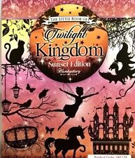 24 x A6 TOPPERS FROM HUNKYDORY - LITTLE BOOK OF TWILIGHT KINGDOM SUNSET FAIRIES