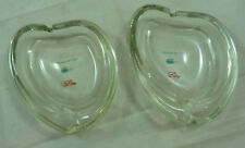 Vintage RX Advertising Ashtray Ultran Phenaglycodol Lilly Clear Glass