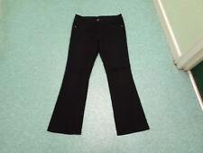 "George Bootcut Jeans Size 14 Leg 31"" Ladies Black Jeans"