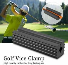 Rubber Vise Clamp Golf Club Tool Regripping Re-Shaft/Head Extractor Repair Vice