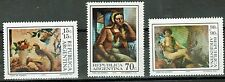 ARGENTINA.(1973) GJ.1613-15. Paintings. 3-stamp set. MNH. Excellent condition.