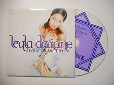 LEYLA DORIANE : JARDIN DE LUMIERE ♦ CD SINGLE PORT GRATUIT ♦