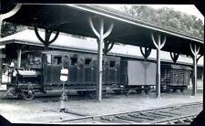 MAINE, FAMINGTON, RAIL BUS, S.R. & R.L. R.R., FARMINGTON STA., REAL PHOTO, (980