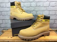 CATERPILLAR CAT MENS UK 7 EU 41 COLORADO SUEDE NATURAL BOOTS RRP £120 LG