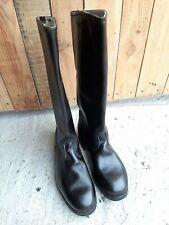 Soviet russian calfskin officer army boots size 42 Ш (270) new
