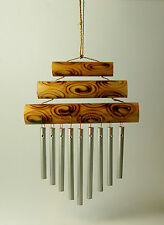 Small Triple Bamboo Top Windchime, 21 cm