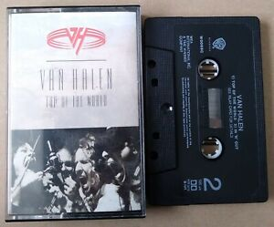 Rare Cassette Tape. Van Halen Top Of The World Hard Rock single