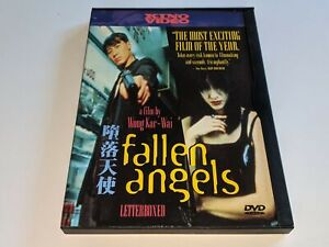 Fallen Angels DVD a Film by Wong Kar-Wai King Video Letterboxed 1998 RARE OOP