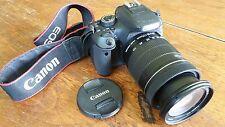Canon EOS Rebel T3i DSLR | 18-135mm lens | 8,427 Low Shutter Count