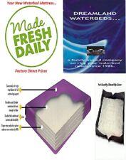 King/California King 98% Waveless Boyd Waterbed Mattress + Stand-Up Liner + Kit