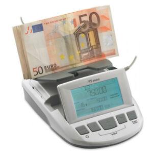 Ratiotec RS 1000  Geldwaage - EUR GBP CHF - Banknoten und Münzen - ( 56600 ) NEU