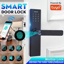 Smart Fingerprint Door Lock Security Electronic Wifi APP Password RFID Unlock F