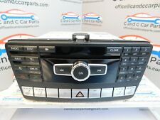 Mercedes SLK R172 Heated Seat Buttons Navigation CD Player NTG4.3 A1729005507