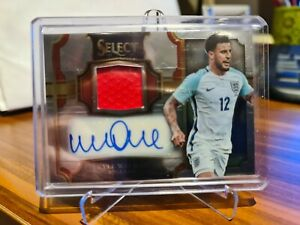 2017/18 Panini Select Jersey Auto Silver Soccer Card Kyle Walker 242/249