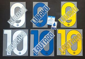 INTER KIT NOME+NUMERO UFFICIALE HOME/AWAY/3RD 2020-2021 official nameset