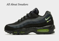 "Nike Air Max 95 ""Black-Lime Green"" Men's Trainers Limited Stock All Sizes"