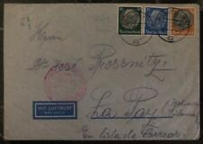 1939 Berlin Germany Airmail Cover To La Paz Bolivia