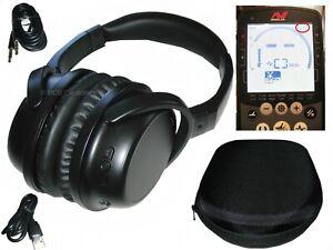 Compatible Wireless Headphones for: Minelab Equinox 600 & 800 Metal Detectors