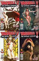 Vampirella: Second Coming #1 (2009) Harris Comics - 4 Comics