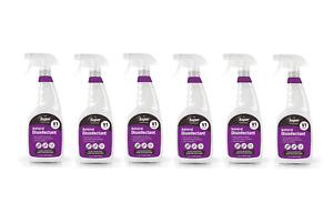 Anviral Disinfectant Surface Cleaner Kills 99.99% viruses Multi-Pack 6 x 750ml