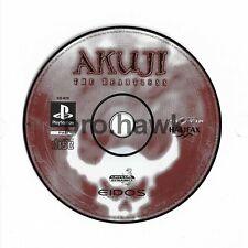 Akuji der herzlosen (ps1, Play-Station) - Game Disk