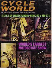 cycle world july 1969 motorcycle magazine bsa