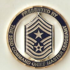 353rd Special Operations Group Command Chief Air Force Challenge Coin / Spec Ops