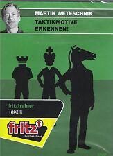 ChessBase Martin Weteschnik - Taktikmotive Erkennen ! - fritztrainer  NEU / OVP