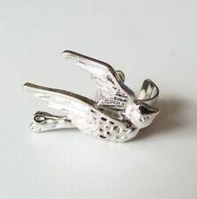 Cuff Clip Earring No Puncture 1Pc Fashion Punk Silver Tone Swallow Bird Ear