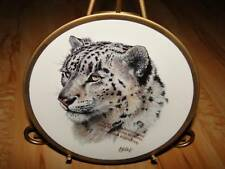 Great Cats Of The World Snow Leopard Lenox Plate