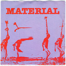 "MATERIAL 'Discourse'/'Slow Murder' Bill Laswell 1980 7"" jazz funk rock Red new"