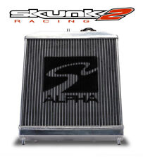 SKUNK2 ALPHA SERIES RADIATOR 1988-1991 HONDA CIVIC CRX HALF SIZE DUAL CORE M/T
