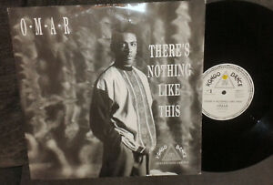 OMAR There's Nothing Like This 12 INCH UK 1990 Kongo Dance DPST 7