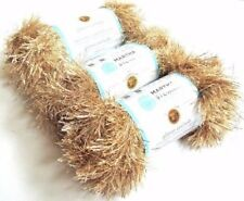 Bizzy1, Lion Brand Yarn Martha Stewart Glitter Eyelash #587 Florentine Gold 3sk