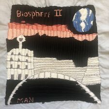 Biosphere II Vintage Embroidery Hand Embroidered Fiber Art Picture