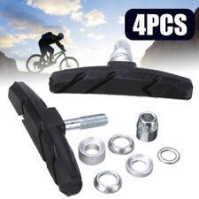 4Pcs Bicycle Break Pads Shoes MTB V Brake Blocks For Mountain Road Bike Parts #