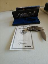 Elvis Presley Miller LitePocket Knife Rusty Wallace Nascar 1998 W/COA Box
