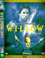 Willow (1988) Val Kilmer / Joanne Whalley / Warwick Davis DVD NEW *FAST SHIPPING