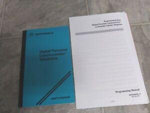 User's & Programming Manual  for Motorola Digital Personal Communicator